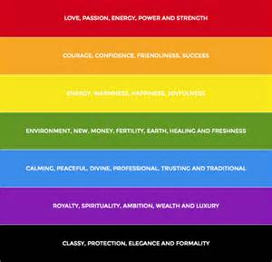 By certain colors below is a list of common colors associated