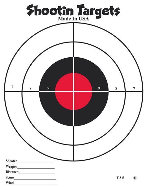 printable rifle targets 8 5x 11 free printable targets 8 5 x 11