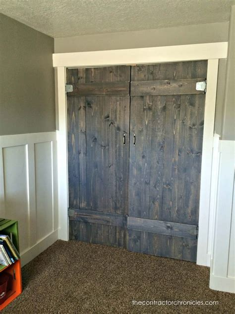 Small Closet Door Ideas Hometalk Barn Wood Closet Doors