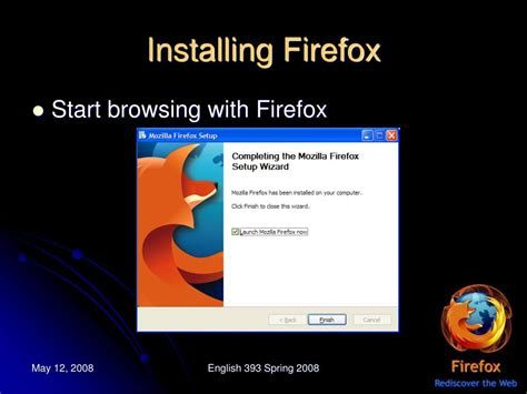 PPT - Mozilla Firefox- Advancement in Web Browsing ... Install Firefox