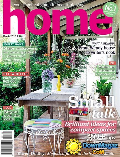 home decor magazines south africa home south africa march 2015 187 download pdf magazines