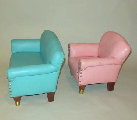 i love lucy couch rare mid century salesman sle mini turquoise sofa