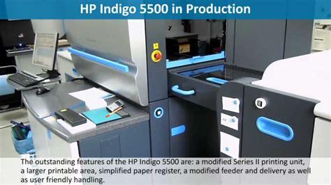 Printer Hp Indigo 5500 jorg hp indigo 5500 in production