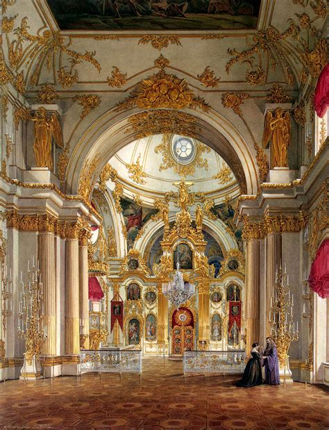 Ordinary Churches In Venice Florida #1: Hau_Edward_Petrovich_-_Cathedral_in_the_Winter_Palace.jpg