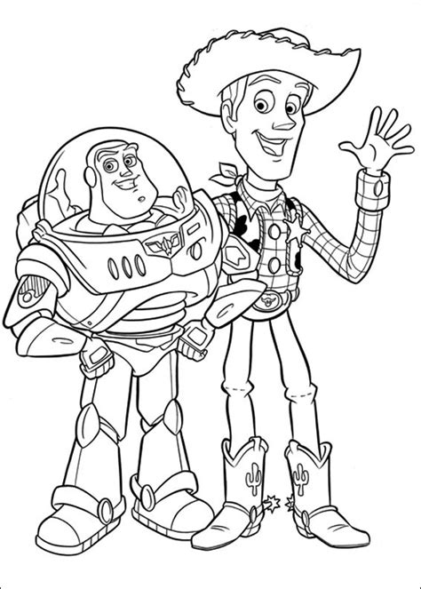 Toy Story Coloring Pages Free Printable Coloring Pages Story Coloring Page