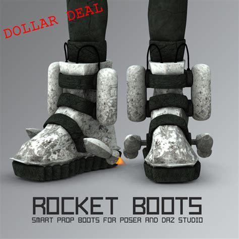 rocket boots most digital creations rocket boots