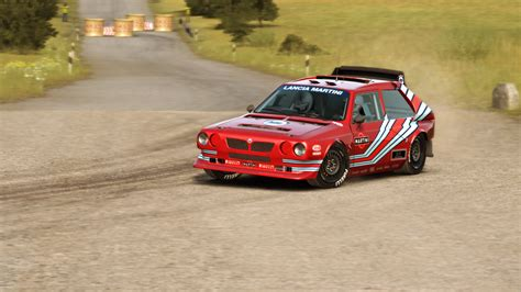 livery lancia lancia delta s4 red livery lancia ecv inspired