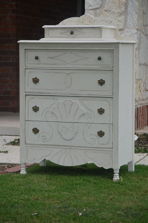shabby chic dressers and chests antique shabby chic white dresser chest of by shabbymebella