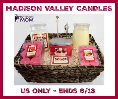 Madison Com Giveaway - madison valley candles gift basket giveaway 96 value