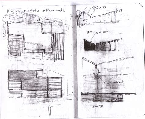 B Arch Sketches by Architecture Photography B House
