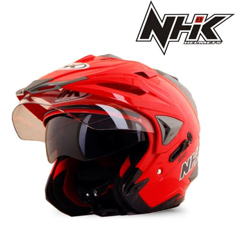 Helm Nhk R1 Solid Murah helm nhk godzilla solid pabrikhelm jual helm murah