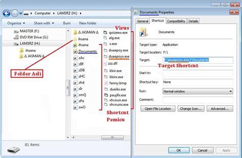 cara membuat virus copy of shortcut cara menghapus virus shortcut terbaru ocim blog berita