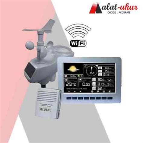 Alat Wifi Id alat pengukur wireless professional stasiun cuaca dengan