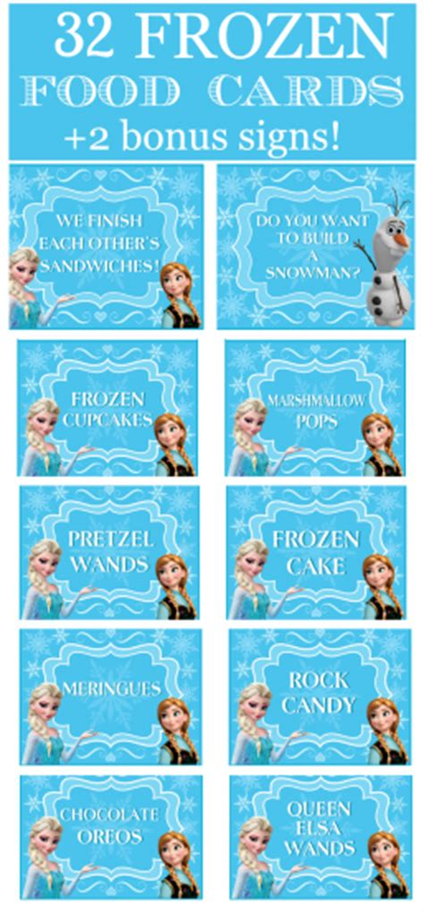 frozen printable get well card fantastic frozen party food ideas party printables games