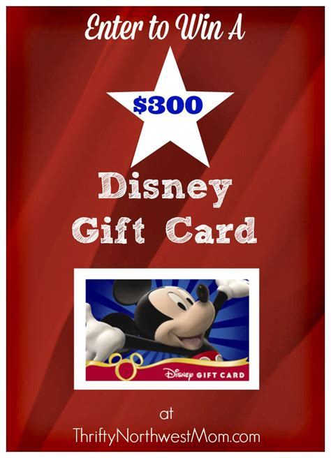 Discount Disney Gift Cards Costco - win a 300 disney gift card at thrifty nw mom