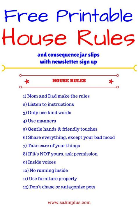 best 25 house rules chart ideas on pinterest house