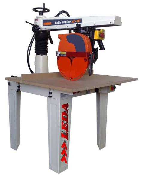 bs  mm xcut radial arm  leda machinery