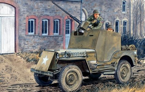 ww2 jeep with machine gun wallpaper jeep ww2 soldiers road figure