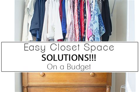 Easy Closet Solutions by Paint Yourself A Smile Page 3 Of 13 A Creative Diy