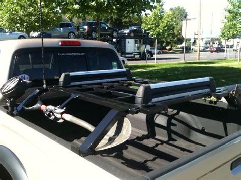 truck bed snowboard rack box rocket fab bed racks tacoma world