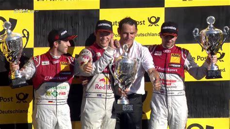 Audi Geschichte Zusammenfassung by Dtm Finale Hockenheim 2014 Rennen Zusammenfassung Youtube