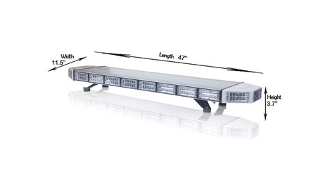 Saber Led Light Bar 48 Quot Saber Dual Linear Light Bars Lights Led Outfitters
