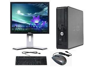 pc de bureau complet windows 7 complet dell ordinateur de bureau tour set pc 4