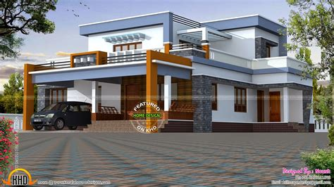 different types of home designs box type house exterior elevation kerala home design and floor plans