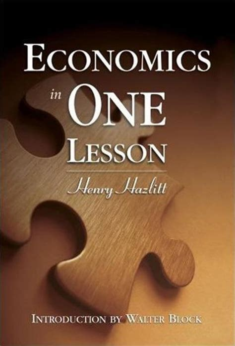 economics books economics in one lesson mises institute