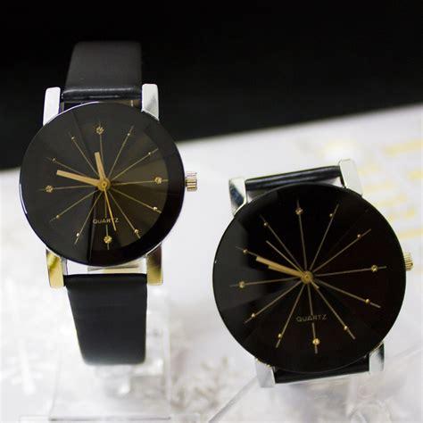 Gelang Kulit Lazada palight lepas pu kulit gelang jam tangan hitam untuk laki