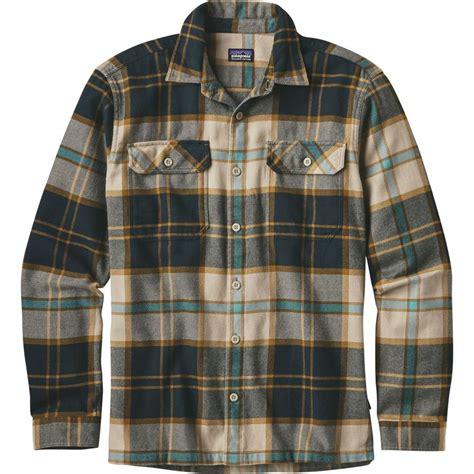 fjord patagonia patagonia fjord flannel shirt long sleeve men s