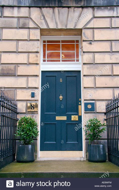 Front Doors Edinburgh Front Door Or A Georgian Town House Edinburgh Uk Stock Photo Royalty Free Image 13587463 Alamy