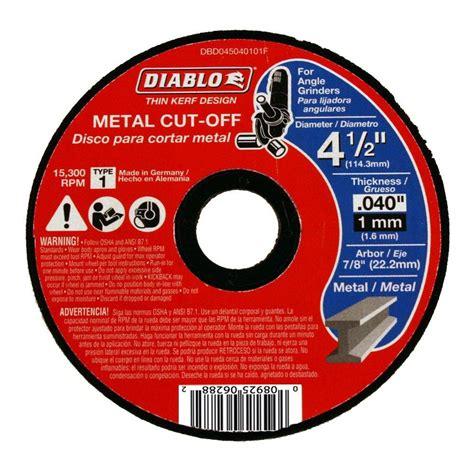 Stainless Steel Outdoor Ceiling Fans by Diablo 4 1 2 In X 0 040 In X 7 8 In Thin Kerf Metal Cut
