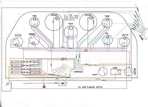 ranger bass boat instrument panel 1990 dash wiring correctcraftfan forums page 1