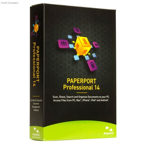 Paperport Professional 14 0 specification sheet buy f309x w00 14 0 nuance