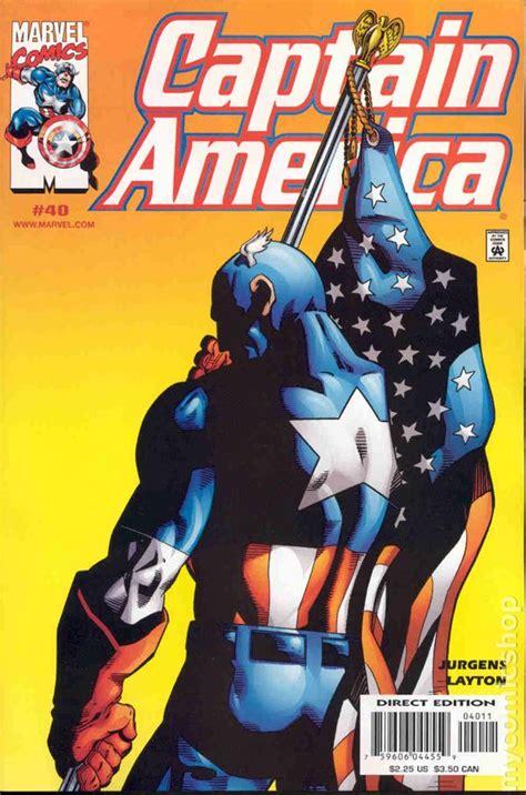 3rd Cap For M Series captain america 1998 3rd series comic books