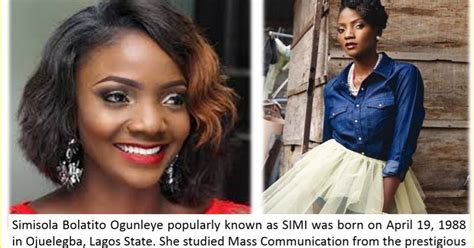 biography of nigerian artist simi edeson online news nigerian singer simi is 29 years old