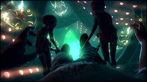 alien abduction l supernatural beings aliens alien dark spaceship wallpaper