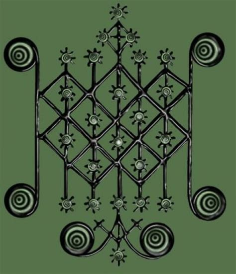 ritual symbols of the voudou spirits voudou veves