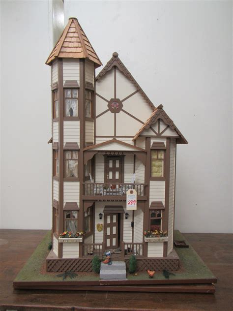 victorian style doll houses victorian style three story dollhouse with furnish