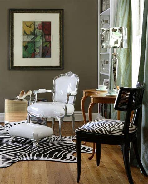 Zebra And Living Room Designs Salas Decoradas Con Estados De Cebra