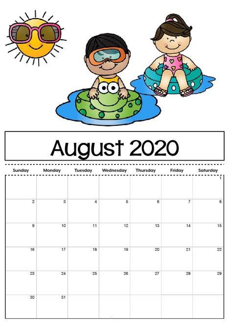 calendar printable  kids  adults calendar shelter