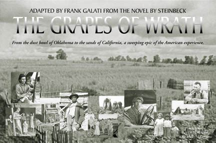 grapes of wrath theme song university productions presents the grapes of wrath