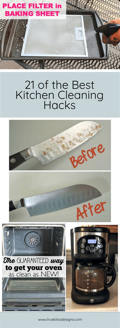 21 kitchen cleaning tips and tricks these will help me to keep things clean and organized 21 kitchen cleaning hacks you won t be able to live