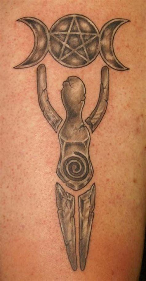 moon goddess tattoo designs 55 amazing pagan tattoos ideas