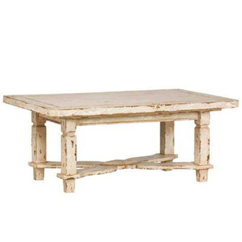 White Distressed Dining Table Table Doesncost Earth Interiors Dining Table Designs