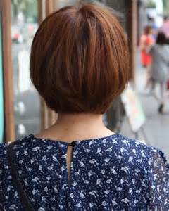 2015 haircut back view back view of cute korean short bob haircuts 2015 styles time