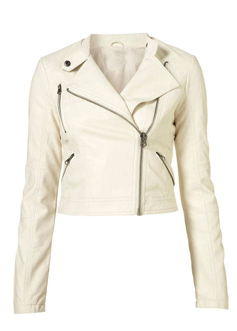white motorbike jacket zinferez white motorcycle jacket leather4sure biker