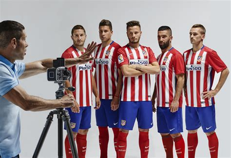 Atletico Madrid Home 1518 nike pays homage to atl 233 tico de madrid s historic winning caign with 2015 16 home kit