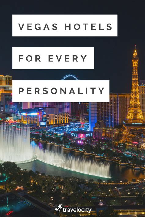 these are the best vegas hotels based on your personality